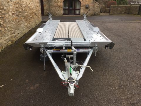 Car Transporter For Hire Tt111 Ifor Williams Ct177 Trucks And