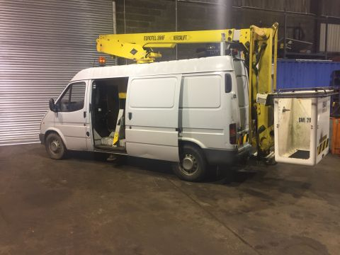Ex BT Cherrypicker Van Lift - 12.6metre