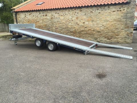 Flatbed / Tilted Trailer Hire (TT112) - Suit Tractors, Plant & Machinery