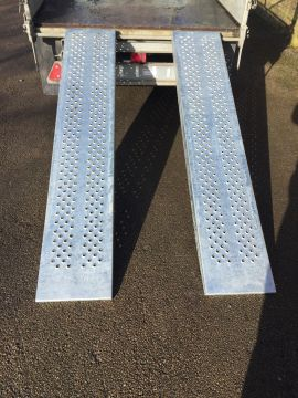 New Ifor Williams Ramps - 8ft Steel